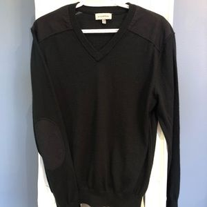 2/$30 sweater with elbow/shoulder patches